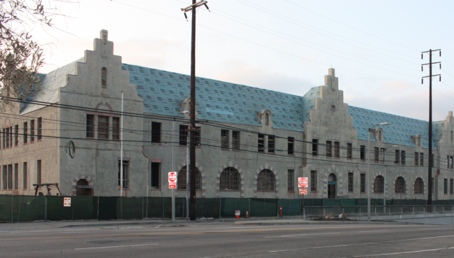 Historical Van de Kamps Building Restoration for Los Angeles Community College